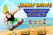 Jhonny Brave Beach Skating