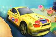 SpongeBob Speed ​​Racing Car 2
