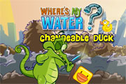 Where Is My Water Changeable Duck