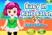 Baby In Hair Salon